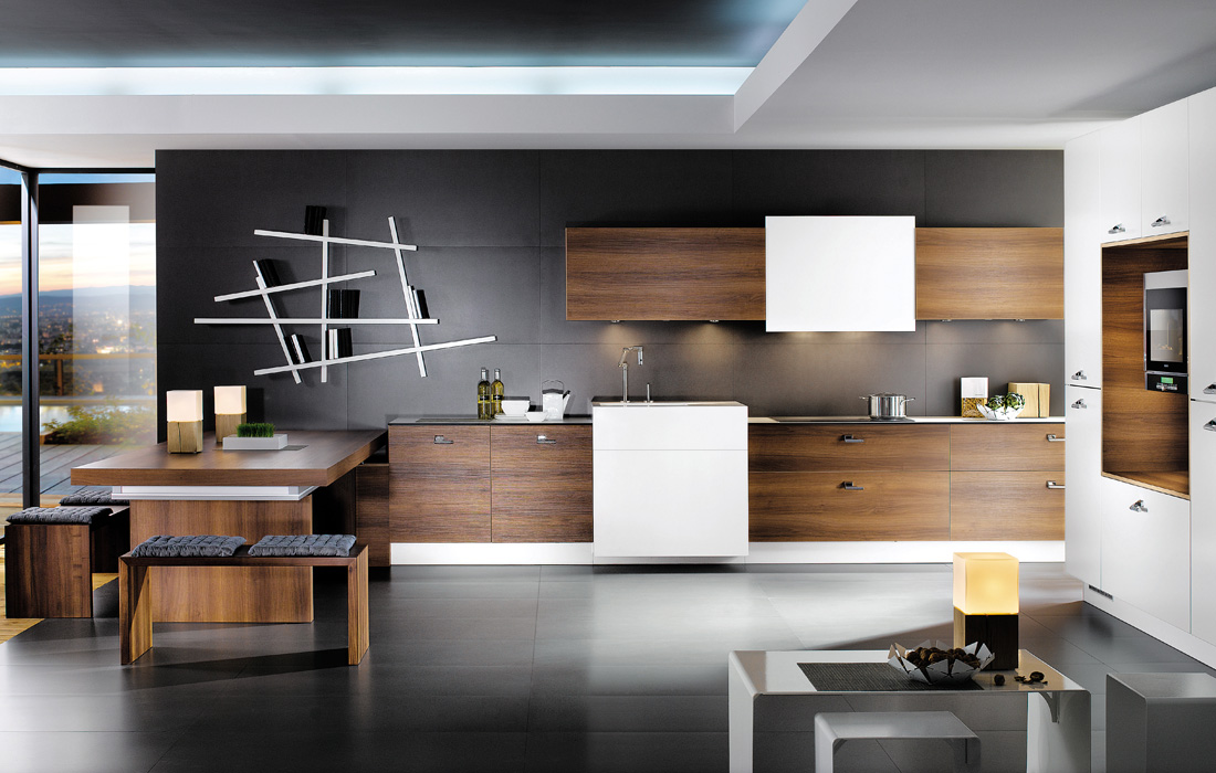La cuisine : moderne, fonctionnelle et décorative !