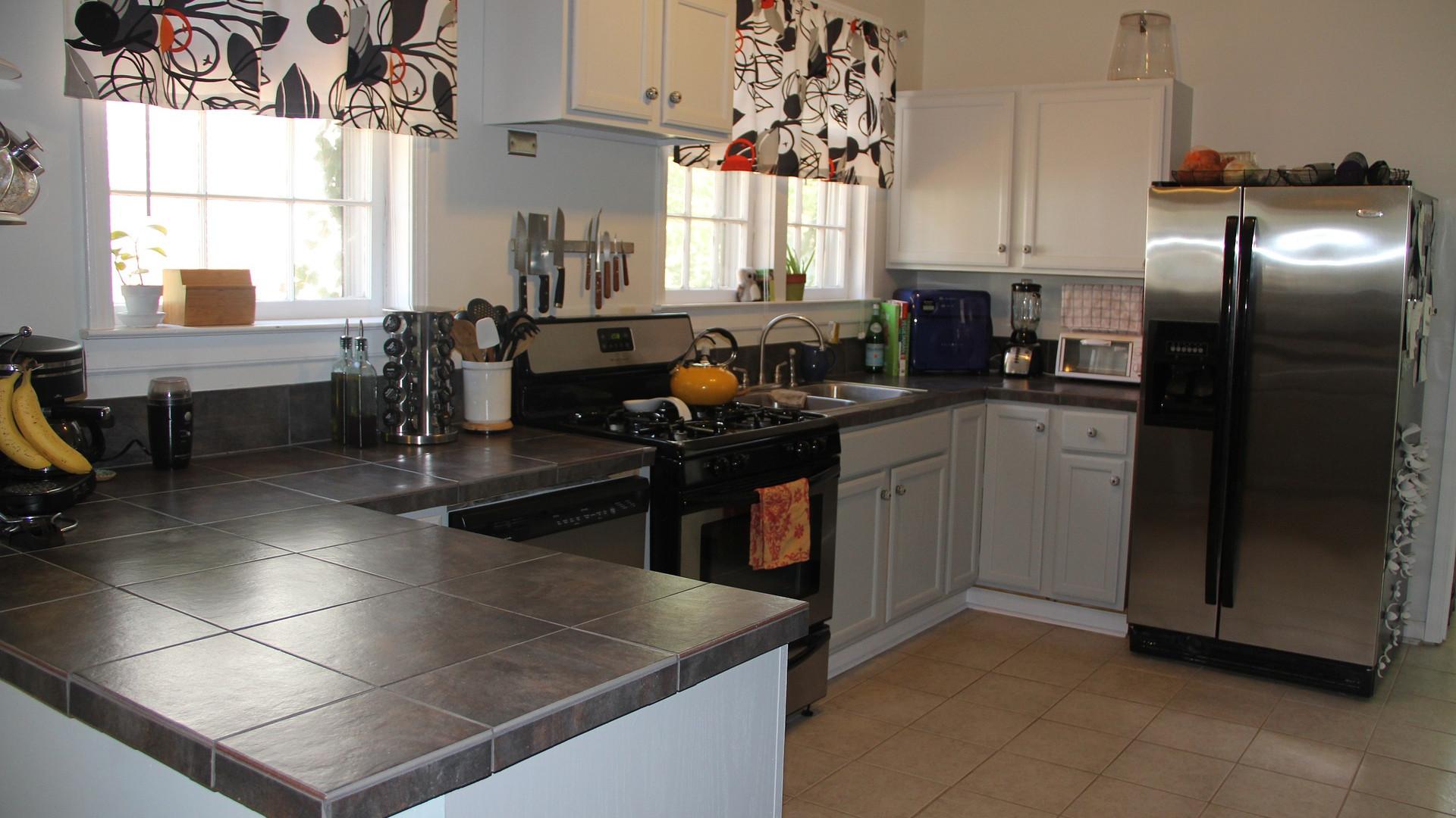 La cuisine est la première à faire l'objet d'une rénovation complète