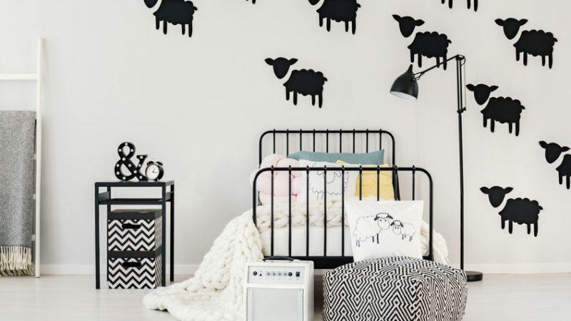 5 stickers muraux pour la décoration intérieure