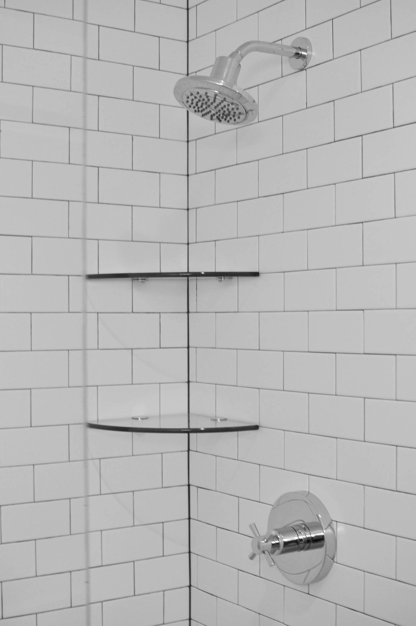 carrelage métro pour la douche